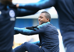 Jose Izquierdo of Brighton and Hove Albion warms up - Mandatory by-line: Arron Gent/JMP - 17/03/2019 - FOOTBALL - The Den - London, England - Millwall v Brighton and Hove Albion - Emirates FA Cup Quarter Final