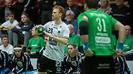 HÅNDBOLD: Kasper Kisum (Nordsjælland) under kampen i Herre Håndbold Ligaen mellem TMS Ringsted og Nordsjælland Håndbold den 25. februar 2019 i Ringsted Sportscenter. Foto: Claus Birch.