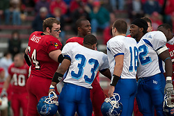 12 November 2005:  Illinois State Redbirds topple the Indiana State Sycamore 70-28 at Hancock Stadium in Normal Illinois