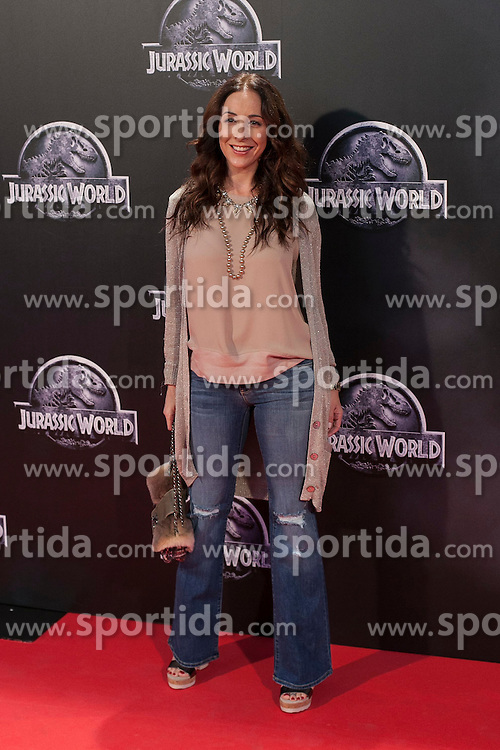11.06.2015, Madrid, ESP, Jurassic World, Premiere, im Bild Adriana Lavat // attends // to the Jurassic World film premiere in Madrid, Spain on 2015/06/11. EXPA Pictures &copy; 2015, PhotoCredit: EXPA/ Alterphotos/ Victor Blanco<br /> <br /> *****ATTENTION - OUT of ESP, SUI*****