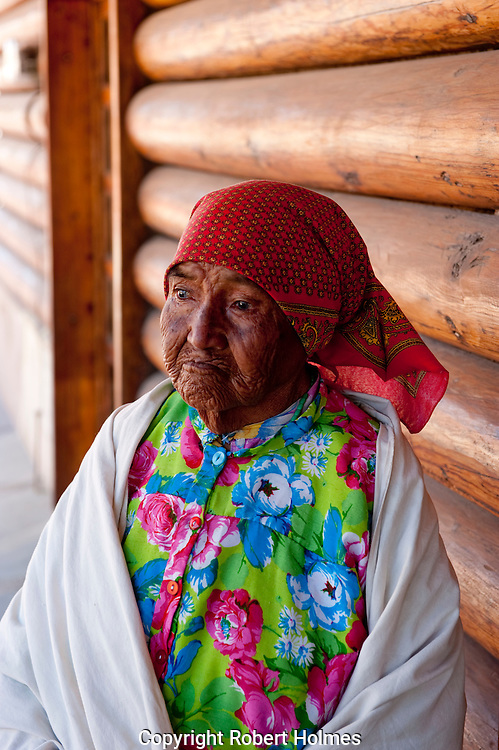 Tarahumara indians in Creel, Copper Canyon, Mexico
