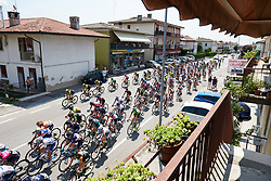 Speeding to the first sprint point at Giro Rosa 2018 - Stage 8, a 126.2 km road race from San Giorgio di Perlena to Breganze, Italy on July 13, 2018. Photo by Sean Robinson/velofocus.com