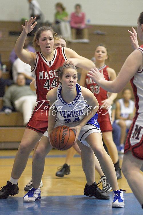 Varsity Girls Basketball..vs George Mason..January 6, 2005