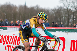 Jolien Verschueren (BEL), Women, Cyclo-cross World Cup Hoogerheide, The Netherlands, 25 January 2015, Photo by Pim Nijland / PelotonPhotos.com