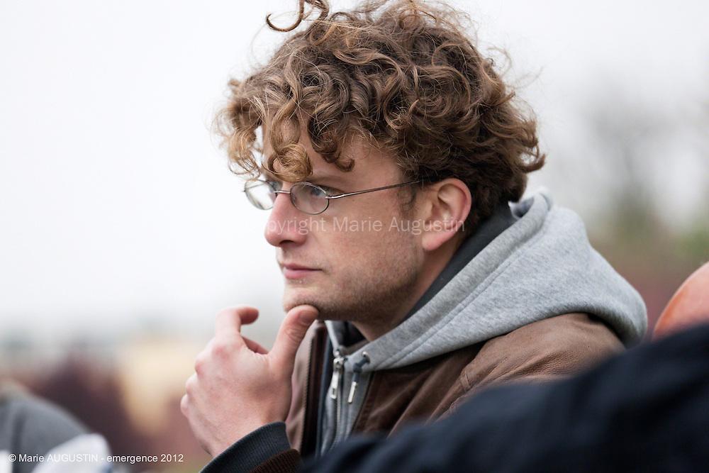 """Samuel LAHU, chef opérateur - tournage scène libre """"Mercenaire"""" de Sacha WOLFF - emergence 2012"""