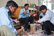 Men make various devices to be used at the IFB Assistive Device Centre, Chuandanga Hospital in the western region of Bangladesh. .Impact Foundation Bangladesh (IFB) provide care, support and treatment to people with disabilities in Bangladesh.