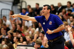 Bristol Flyers Head Coach Andreas Kapoulas - Mandatory by-line: Robbie Stephenson/JMP - 08/09/2016 - BASKETBALL - SGS Arena - Bristol, England - Bristol Flyers v USA Select - Preseason Friendly