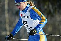 Langrenn, 22. november 2003, Verdenscup Beitostølen, Elin Ek, Sverige