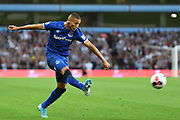Everton forward Richardson (7) takes a shot at goal during the Premier League match between Aston Villa and Everton at Villa Park, Birmingham, England on 23 August 2019.