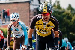 LOBATO Juan José of Team LottoNL-Jumbo during 1st lap on local circuit, UCI Men WorldTour 81st La Flèche Wallonne at Huy Belgium, 19 April 2017. Photo by Pim Nijland / PelotonPhotos.com | All photos usage must carry mandatory copyright credit (Peloton Photos | Pim Nijland)