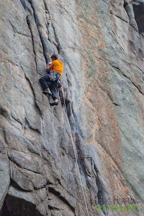 An early morning climb to shoot Country Club Crack and Nobody's Home on Castle Rock in Boulder Canyon. An early morning rock climb to shoot Country Club Crack and Nobody's Home on Castle Rock in Boulder Canyon.