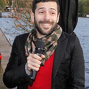 NLD/Amsterdam/20120514 - Presentatie Cointreau fles vol strikjes ontworpen door Alexis Mabille, Alexis Mabille
