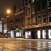 NLD/Amsterdam/20101129 - Nachtelijk straten gemeente Amsterdam, van Bearlestraat