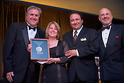 Homecoming 2008: Alumni Awards Gala 9/26/2008..Graham Stewart, Sedat I. Gokcen (BSEE'82, MA'84)(medal of merit),  Jeanne M. Gokcen BSHS '82, MAHS '84(medal of merit). and Dennis Minichello ABAS '74