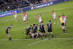 RUGBY - CHAMPIONS CUP - 2017<br /> johnston (census) au sol
