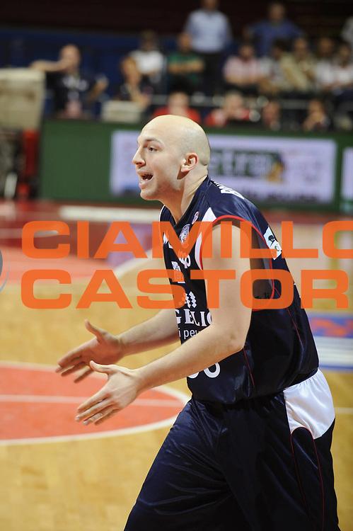 DESCRIZIONE : Milano Lega A 2008-09 Playoff Semifinale Gara 1 Armani Jeans Milano Angelico Biella<br /> GIOCATORE : Greg Brunner<br /> SQUADRA : Angelico Biella<br /> EVENTO : Campionato Lega A 2008-2009<br /> GARA : Armani Jeans Milano Angelico Biella<br /> DATA : 29/05/2009<br /> CATEGORIA : delusione<br /> SPORT : Pallacanestro<br /> AUTORE : Agenzia Ciamillo-Castoria/G.Ciamillo