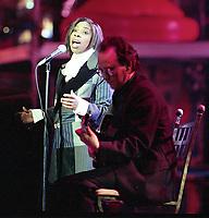 Tasmin Archer, The BRIT Awards 1993 <br /> Tuesday 16 Feb 1993.<br /> Alexandra Palace, London, England<br /> Photo: John Marshall - JM Enternational