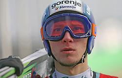 Robert Kranjec of  SK Triglav, first place at Slovenian National Championship in Ski Jumping on February 12, 2008 in Kranj, Slovenia . (Photo by Vid Ponikvar / Sportal Images).