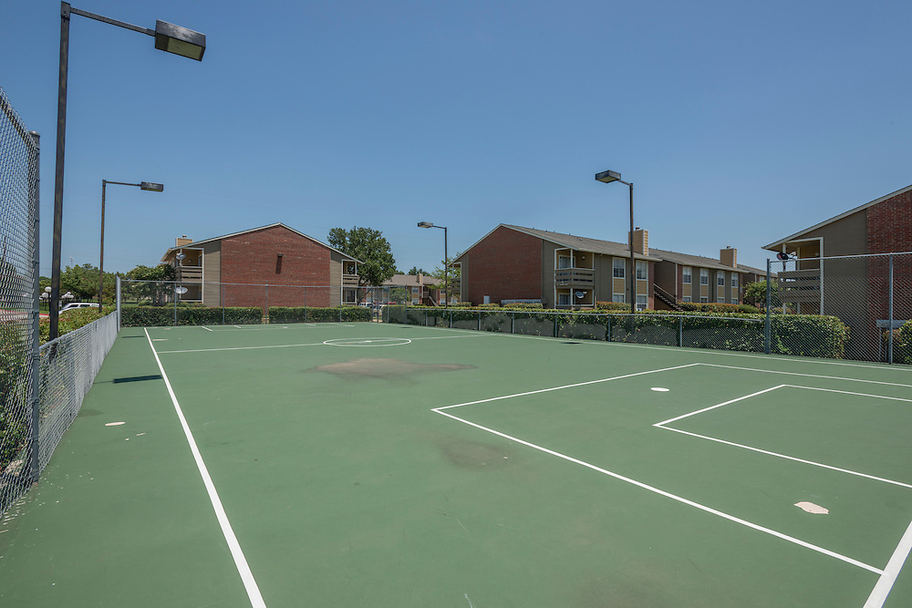 Pre-renovation photograph of Catalina Apartments in Lewisville, Texas, a northern suburb of Dallas, Texas, for Vesta Management