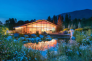 The Theatre Aspen tent in the John Denver Sanctuary in Aspen, Colorado.