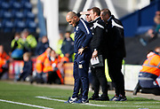A disappointed Alex Neil Manager of Preston North End during the EFL Sky Bet Championship match between Preston North End and Millwall at Deepdale, Preston, England on 23 September 2017. Photo by Paul Thompson.