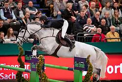 VAN DER VLEUTEN Maikel (NED), Dana Blue<br /> Leipzig - Partner Pferd 2019<br /> Championat von Leipzig<br /> 19. Januar 2019<br /> © www.sportfotos-lafrentz.de/Stefan Lafrentz