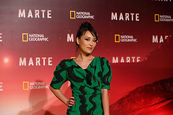 November 8, 2016 - Roma, RM, Italy - Japanese actress Jun Ichikawao during Red Carpet of the premier of Mars, the largest production ever made by National Geographic (Credit Image: © Matteo Nardone/Pacific Press via ZUMA Wire)