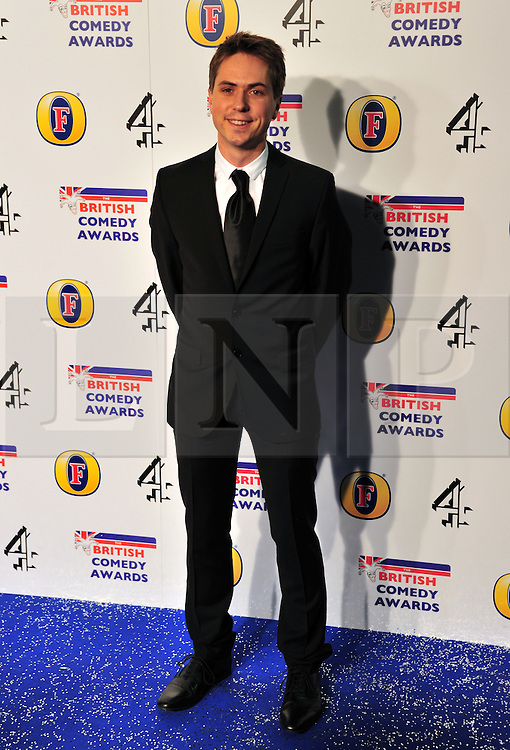 © Licensed to London News Pictures. 16/12/2011. London, England. Joe Thomas attends the Channel 4 British Comedy Awards  in Wembley London .  Photo credit : ALAN ROXBOROUGH/LNP