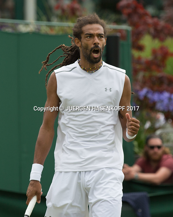 DUSTIN BROWN (GER)<br /> <br /> Tennis - Wimbledon 2017 - Grand Slam ITF / ATP / WTA -  AELTC - London -  - Great Britain  - 3 July 2017.