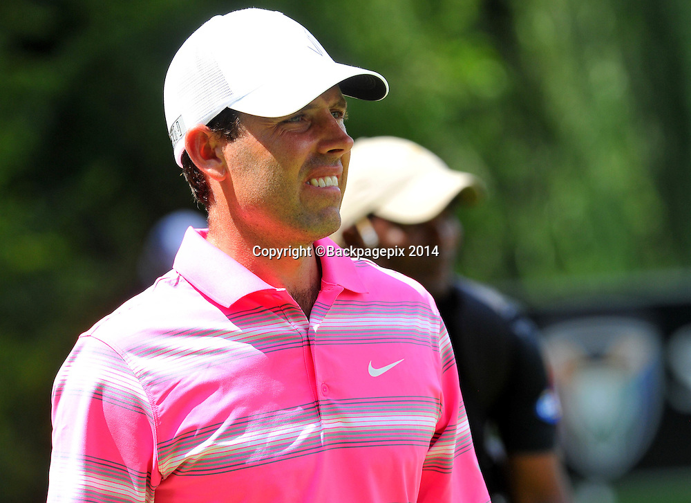 Charl Schwartzel during the 2015 South Africa Golf Open Championship at the Glendower Golf Course in Johannesburg, South Africa on January 08, 2014 ©Samuel Shivambu/BackpagePix