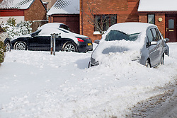 The Beast From the East, Dunfermline, 01/03/2018<br />Cars snowed in in Dunfermline<br />(c)Craig Brown| Edinburgh Elite media