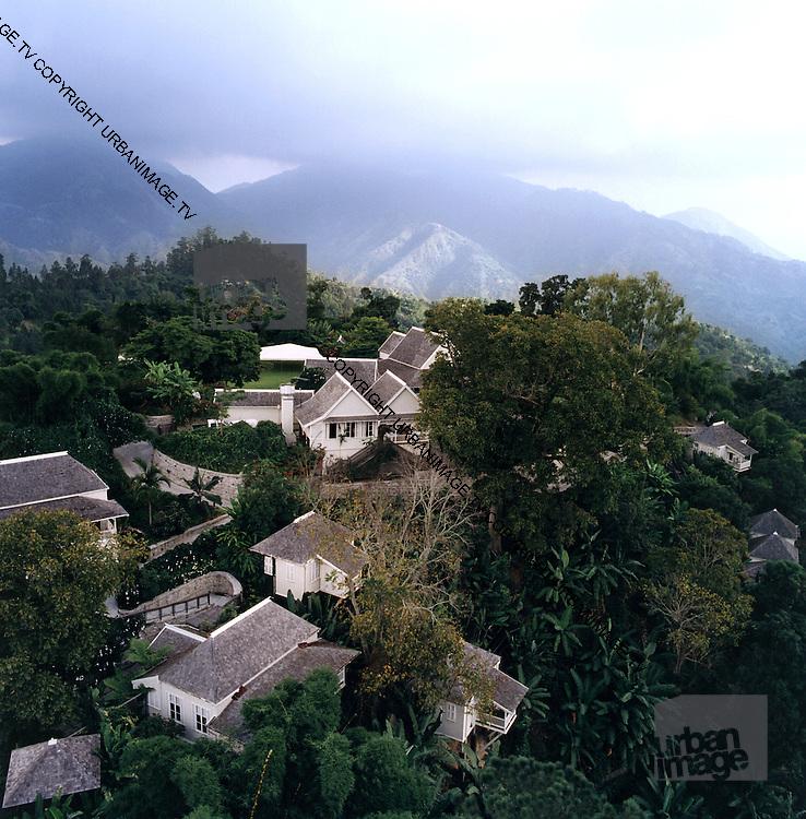 Strawberry Hill Hotel Aerial photo - Jamaica