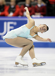 London, Ontario ---10-01-15--- Myriane Samson competes in the women's short program at the 2010 BMO Canadian Figure Skating Championships in London, Ontario, January 15, 2010. .GEOFF ROBINS/Mundo Sport Images..
