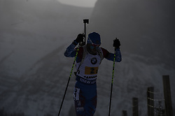 February 8, 2019 - Calgary, Alberta, Canada - Loginov Alexander (RUS) competing during Men's Relay of 7 BMW IBU World Cup Biathlon 2018-2019. Canmore, Canada, 08.02.2019 (Credit Image: © Russian Look via ZUMA Wire)