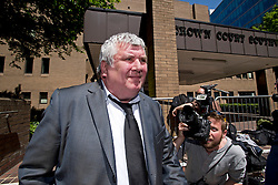© London News Pictures. 05/06/2013. London, UK. GREG MISKIW, Former news editor of the News of The World leaving Southwark Crown Court in London where he faced charges relating to phone hacking scandal at the News of The World. Photo credit: Ben Cawthra/LNP  Three former News of the World staff have pleaded guilty to charges related to hacking phones, the trial of Rebekah Brooks and Andy Coulson heard.<br />