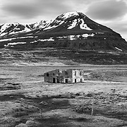 Ruin, Fell, North Iceland