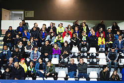Slovenian supporters before football match between Slovenia and Nederland in qualifying Round of Woman's qualifying for EURO 2021, on October 5, 2019 in Mestni stadion Fazanerija, Murska Sobota, Slovenia. Photo by Blaž Weindorfer / Sportida