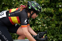 Sheyla Gutierrez Ruiz (ESP) chases back at OVO Energy Women's Tour 2018 - Stage 3, a 151 km road race from Atherstone to Leamington Spa, United Kingdom on June 15, 2018. Photo by Sean Robinson/velofocus.com