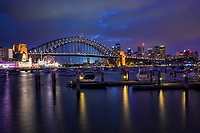 Lavender Bay & Harbour Bridge, North Sydney