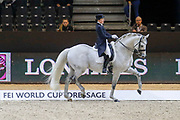 Anna-Mengia Aerne on Raffaelo Va Bene during the Equestrian FEI World Cup Dressage Lyon 2017 on November 2, 2017 at Eurexpo Lyon in Chassieu, near Lyon, France - Photo Romain Biard / Isports / ProSportsImages / DPPI