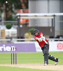 Cameron Steel of Durham Jets is caught out by Ryan McLaren of Lancashire Lightning (Not Pictured) - Mandatory by-line: Jack Phillips/JMP - 23/07/2017 - CRICKET - Emirates Old Trafford - Manchester, United Kingdom - Lancashire Lightning v Durham Jets - Natwest T20 Blast