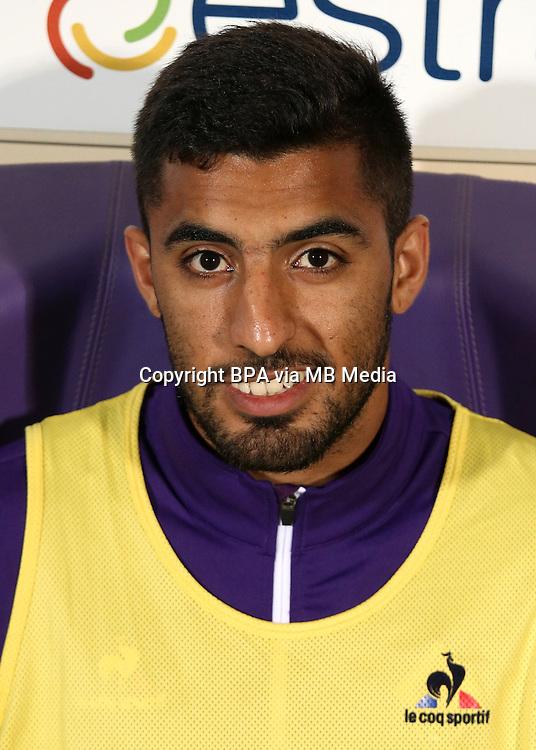 Italian League Serie A -2016-2017 / <br /> ( ACF Fiorentina ) - <br /> Maximiliano Martin Olivera de Andrea &quot; Maximiliano Olivera &quot;