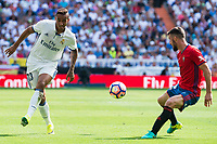 Real Madrid's player Danilo Luiz Da Silva during a match of La Liga Santander at Santiago Bernabeu Stadium in Madrid. September 10, Spain. 2016. (ALTERPHOTOS/BorjaB.Hojas)