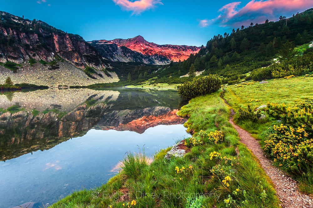 Vasilashki lakes in Pirin Mountain