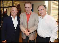 L to R Ronald O.Perelman, , Conductor Valery Gergiev, Sir Clive Gillinson attend the National Youth Orchestra of The United States of America Reception at the <br /> The Royal Albert Hall hosted by Ronald O.Perelman, London, United Kingdom,<br /> Sunday, 21st July 2013<br /> Picture by Andrew Parsons / i-Images