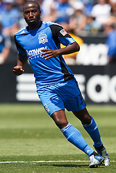 August 21, 2010; Santa Clara, CA, USA;  San Jose Earthquakes forward Cornell Glen (13) during the first half against the Los Angeles Galaxy at Buck Shaw Stadium. San Jose defeated Los Angeles 1-0.