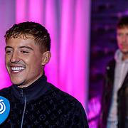 NLD/Amsterdam/20191009 Lil Kleine krijgt wassen beeld,