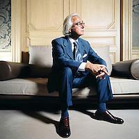 Marc Bonnant, avocat, ancien b&acirc;tonnier de Gen&egrave;ve.<br /> Gen&egrave;ve, ao&ucirc;t 2005<br /> &copy; Thierry Parel