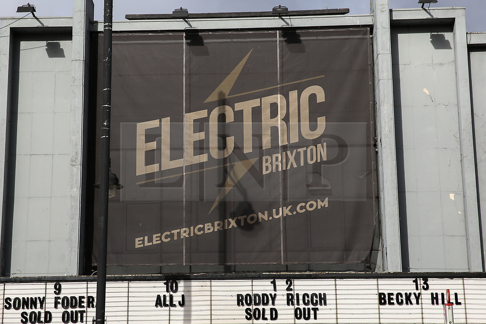 © Licensed to London News Pictures. 13/03/2019. London, UK. General view of Electric Brixton on Town Hall Parade in Brixton where three men in their 20s were stabbed during a fight at Roddy Ricch concert at 10.30pm on Tuesday 12 March 2019. According to the Met Police three man 20 have now been discharged from hospital including the man whose injuries were thought to be life threatening. Photo credit: Dinendra Haria/LNP