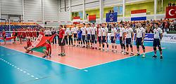23-09-2016 NED: EK Kwalificatie Turkije - Wit Rusland, Koog aan de Zaan<br /> Turkije had het vrij lastig in de eerste wedstrijd tegen Wit Rusland maar blijven meedoen voor het EK ticket / Line up Wit Rusland